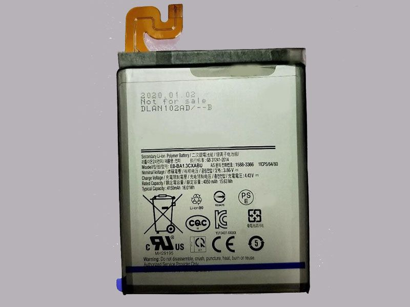 Batterie interne smartphone EB-BA1.3CXABU
