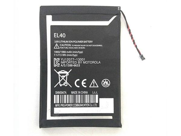 Batterie EL40