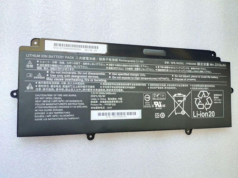 Batterie ordinateur portable FPB0339S
