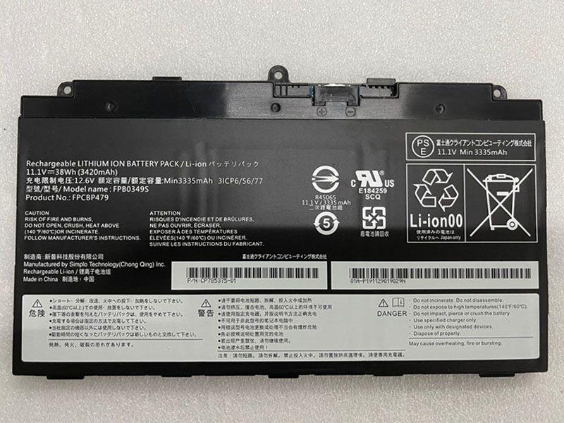 Batterie ordinateur portable FPB0349S