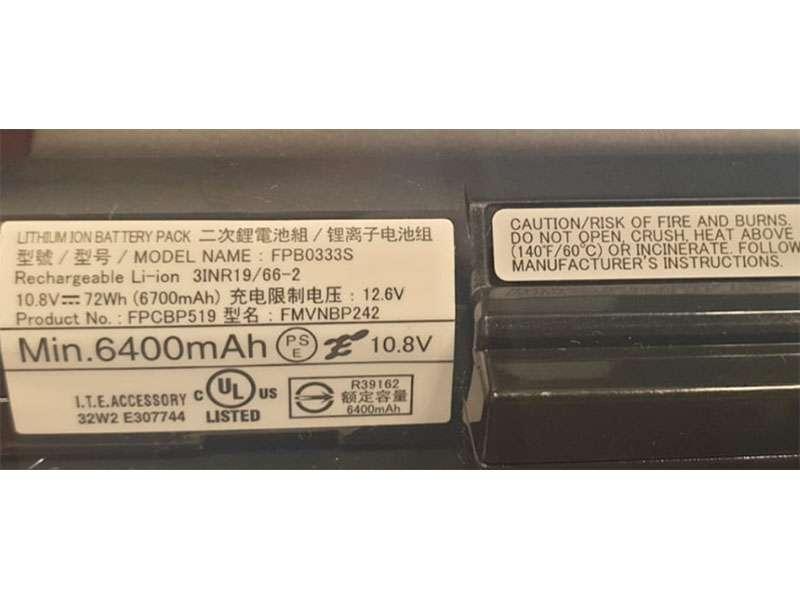 Batterie ordinateur portable FPCBP519