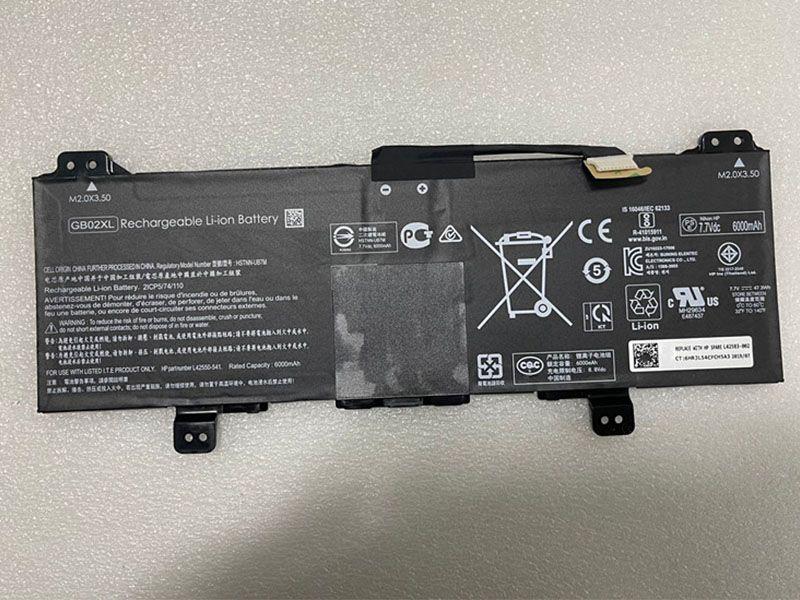 Batterie ordinateur portable GB02XL