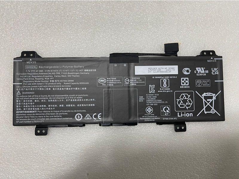 Batterie ordinateur portable GH02XL