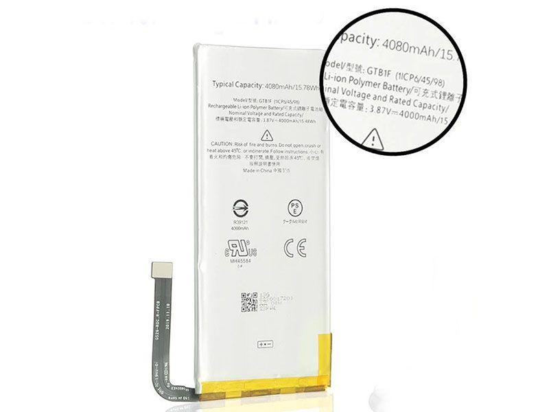 Batterie interne smartphone GTB1F