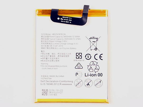Batterie interne smartphone HB376787ECW