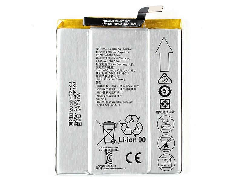 Batterie interne smartphone HB436178EBW
