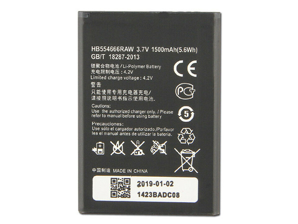 Batterie interne smartphone HB554666RAW
