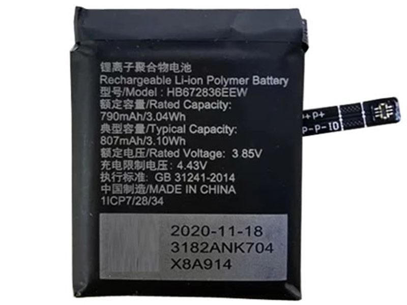 Batterie interne HB672836EEW