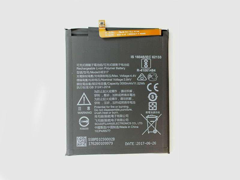 Batterie interne smartphone HE317