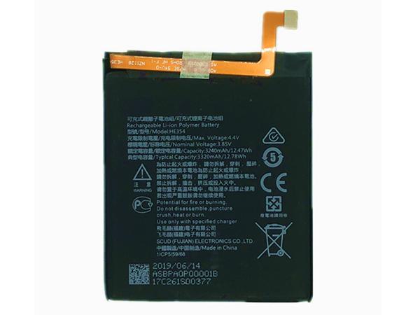 Batterie interne smartphone HE354