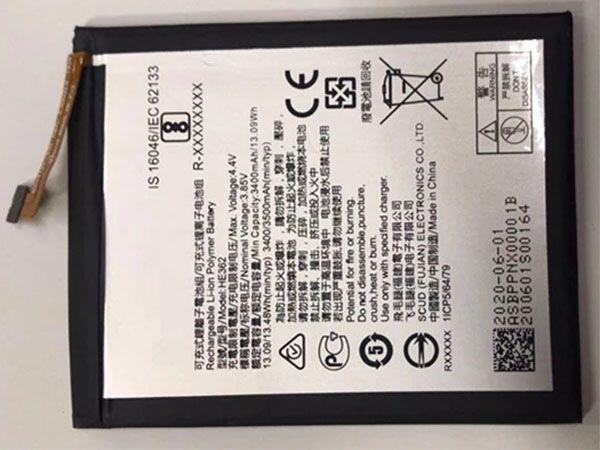 Batterie interne smartphone HE362