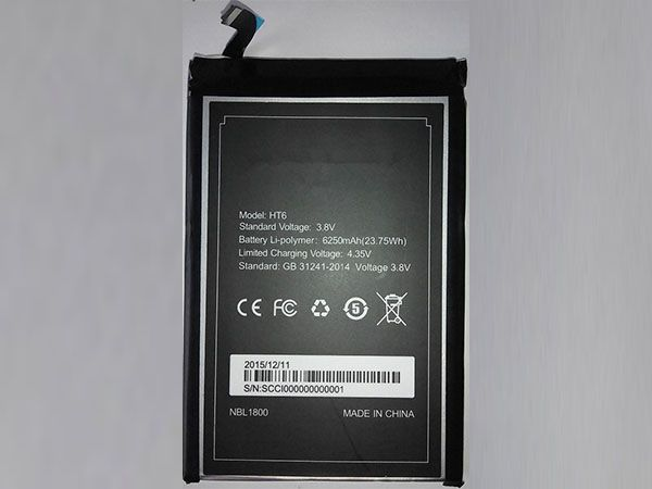 Batterie interne smartphone HT6