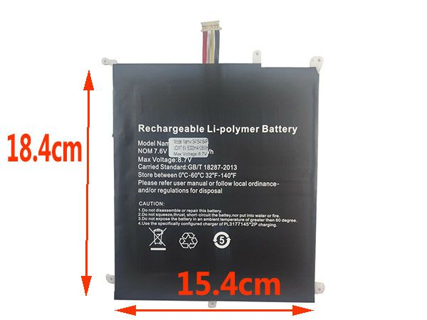 Batterie ordinateur portable HW-34154184