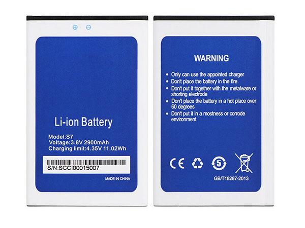 Batterie interne smartphone S7