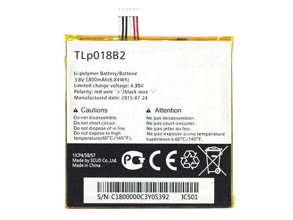 Batterie interne smartphone TLP018B2