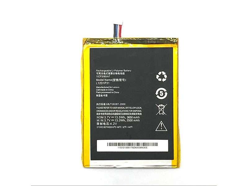 Batterie interne tablette L12D1P31