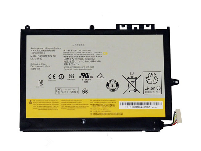 Batterie interne tablette L13M2P22