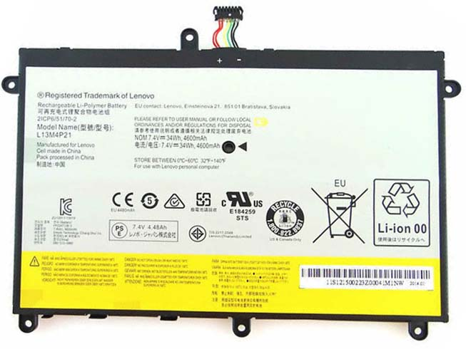 Batterie interne tablette L13M4P21