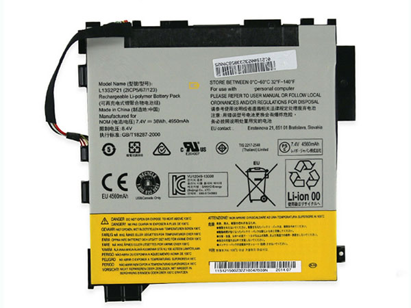 Batterie interne tablette L13S2P21