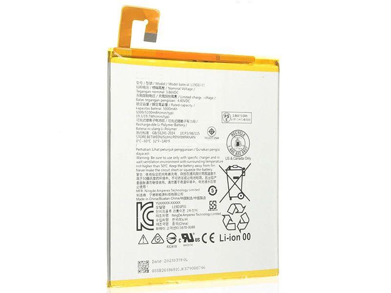 Batterie interne tablette L19D1P31