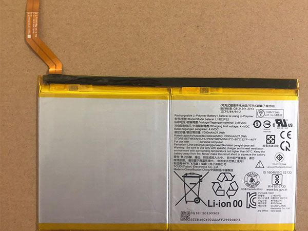 Batterie interne tablette L19D2P32