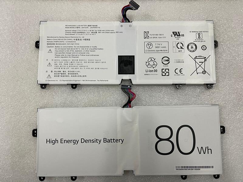 Batterie ordinateur portable LBV7227E
