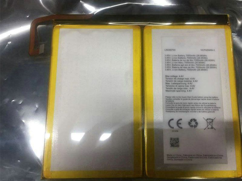 Batterie interne tablette LIN385700