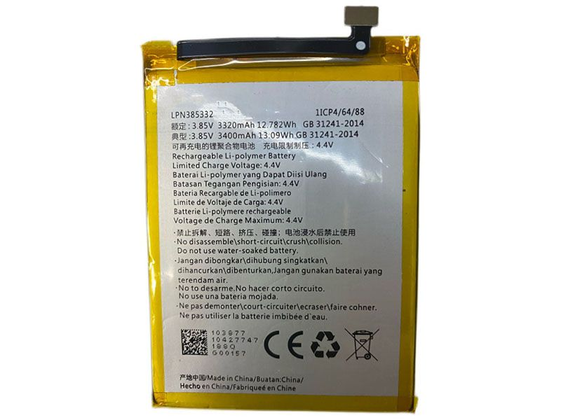 Batterie interne smartphone LPN385332
