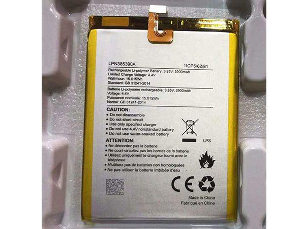 Batterie interne smartphone LPN385390A
