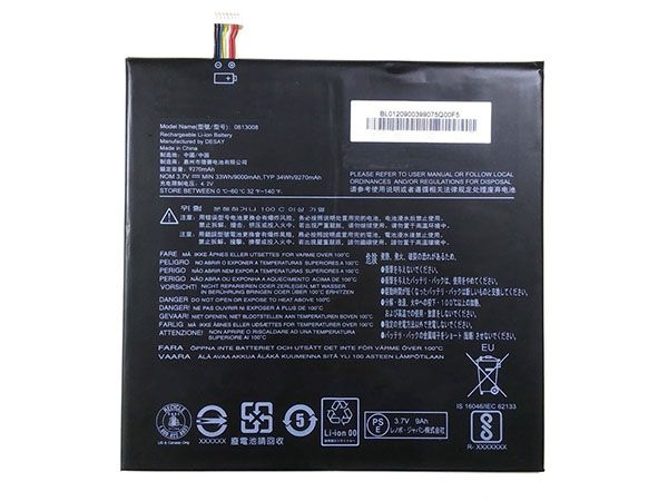 Batterie interne tablette 813008