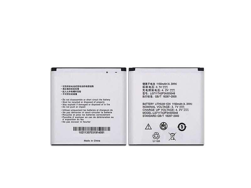 Batterie interne smartphone Li3711T42P3h505048