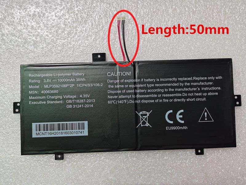 Batterie ordinateur portable MLP3592106P_2P