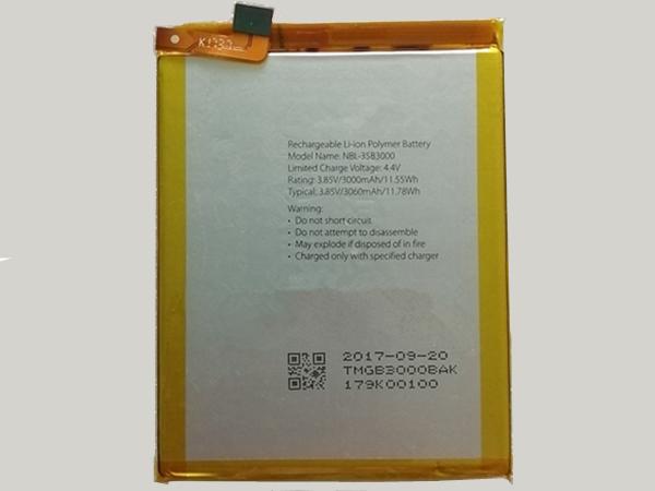 Batterie interne smartphone NBL-35b3000