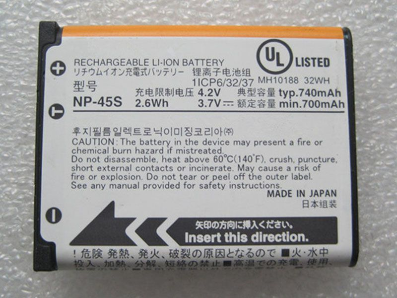 Batterie interne NP-45S