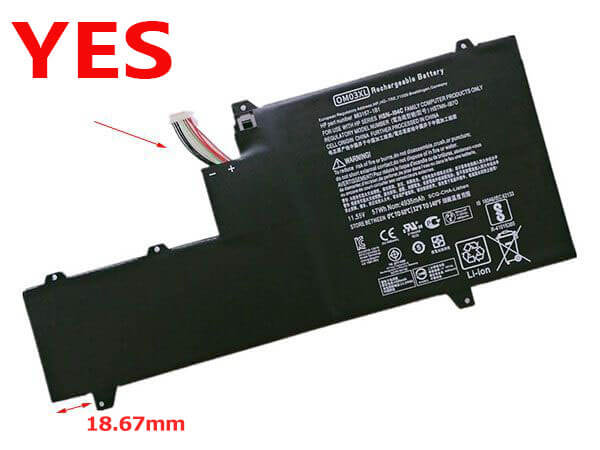 Batterie ordinateur portable 863167-1B1