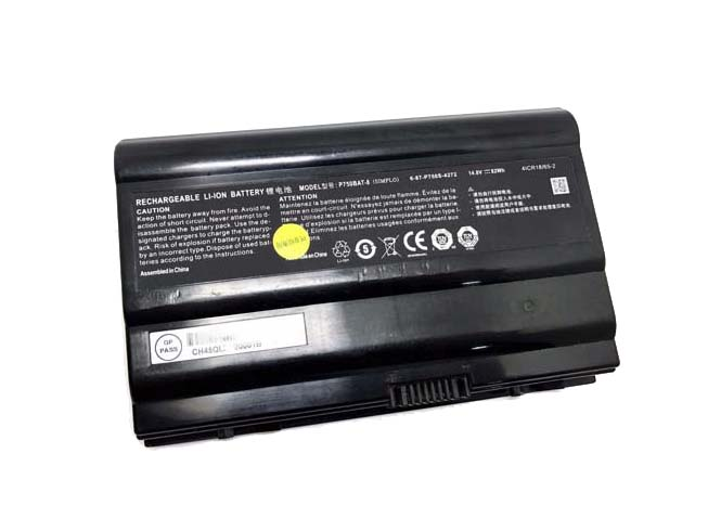 Batterie ordinateur portable P750BAT-8