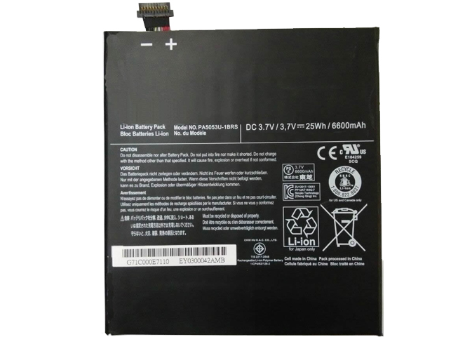Batterie interne tablette PA5053U-1BRS