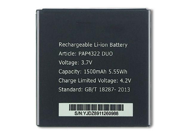 Batterie PAP4322DUO