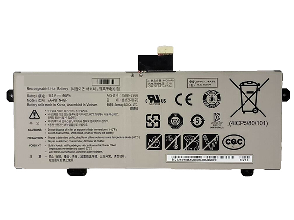 Batterie ordinateur portable AA-PBTN4GP