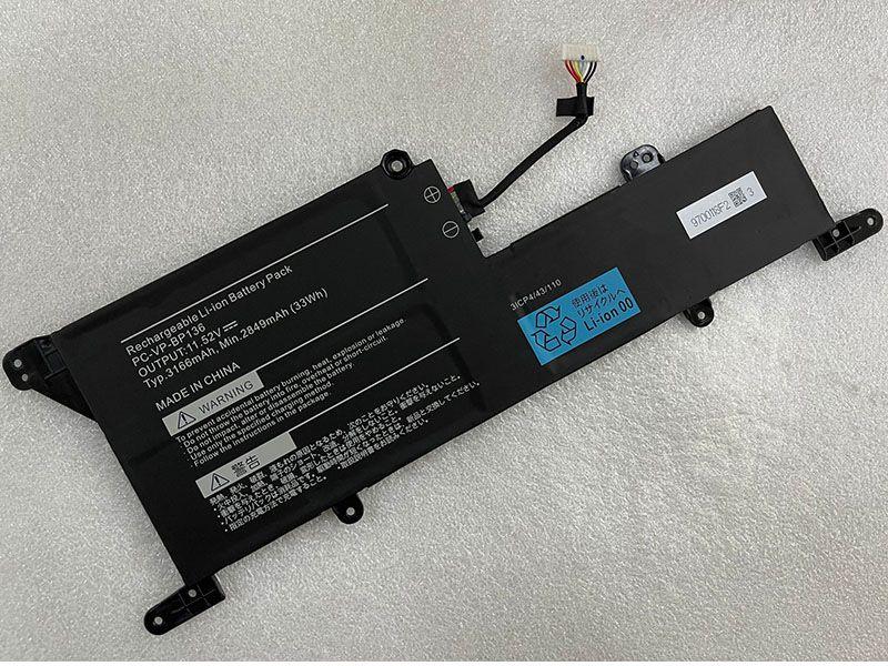 Batterie ordinateur portable PC-VP-BP136