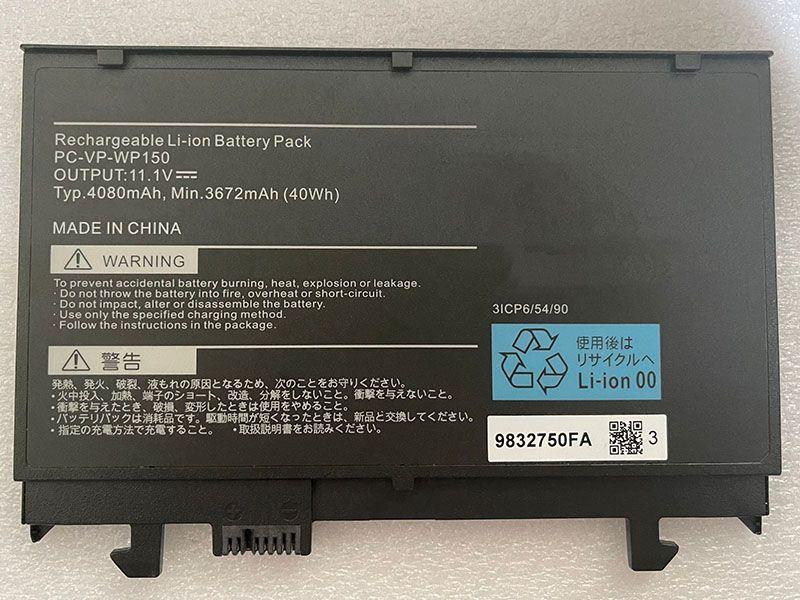 Batterie ordinateur portable PC-VP-WP150