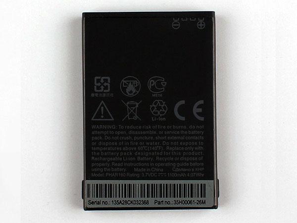 Batterie interne smartphone PHAR160