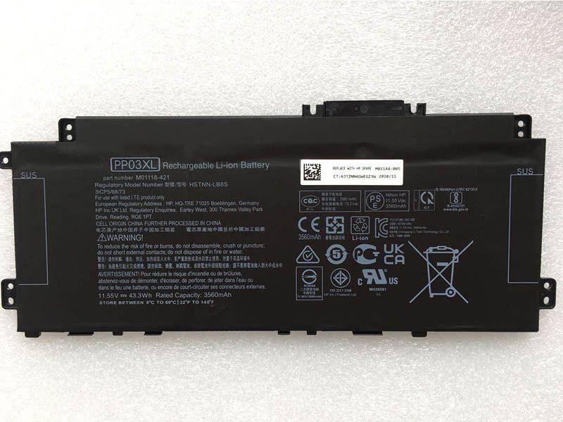 Batterie ordinateur portable PP03XL