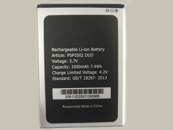 Batterie interne smartphone PSP5502DUO