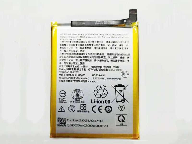 Batterie interne smartphone Q6655