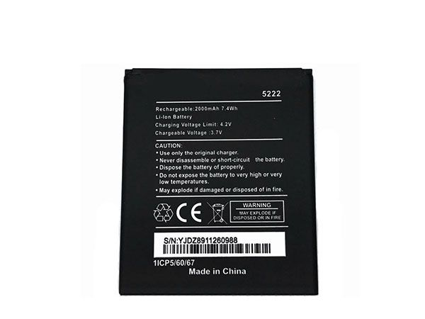 Batterie interne smartphone 5222