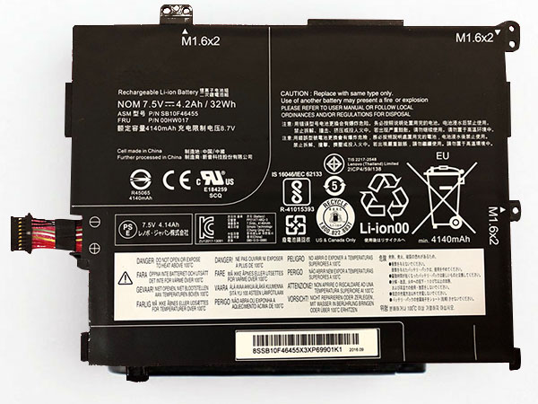 Batterie interne tablette SB10F46455