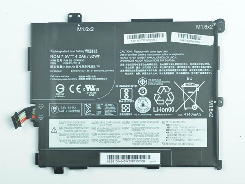 Batterie ordinateur portable SB10F46455