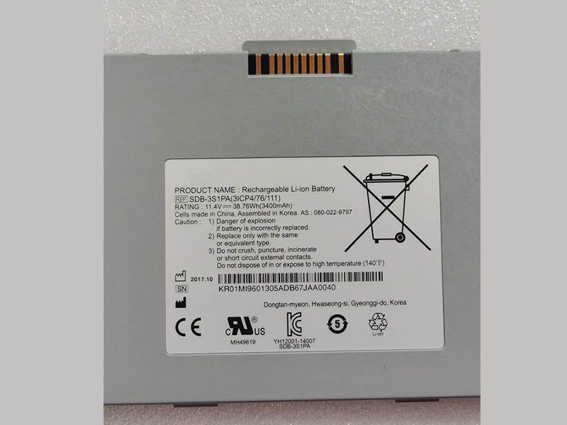 Batterie ordinateur portable SDB-3S1PA