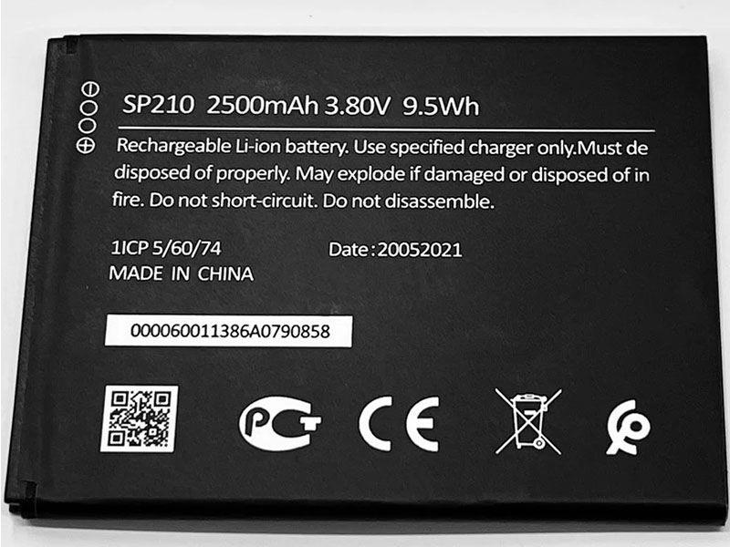 Batterie interne smartphone SP210